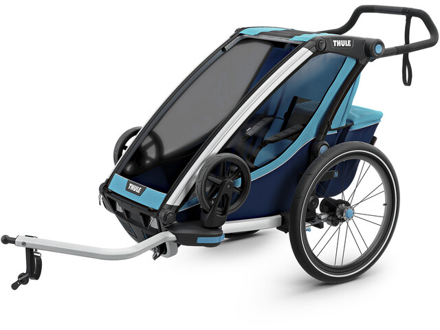 Thule Chariot Cross 1 Bike Trailer thule blue/poseidon